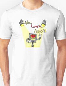 Undertale - Mettaton, Lights Camera Action! T-Shirt