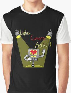 Undertale - Mettaton, Lights Camera Action! Graphic T-Shirt