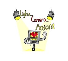Undertale - Mettaton, Lights Camera Action! by McFalconer
