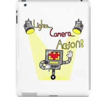 Undertale - Mettaton, Lights Camera Action! iPad Case/Skin