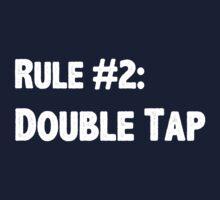 Rule #2 Double Tap Kids Clothes