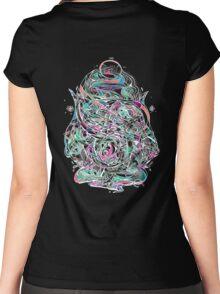 Serpent swirls  Women's Fitted Scoop T-Shirt