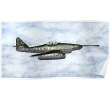 """Messerschmitt Me 262A-1a/U4 """"Pulkzerstorer"""" Poster"""