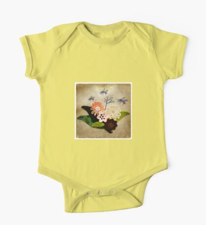Busy buzzy bees One Piece - Short Sleeve