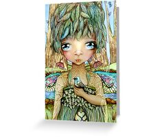 Eucalypt Princess Greeting Card