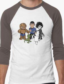 Rock, Paper, Scissors... Men's Baseball ¾ T-Shirt