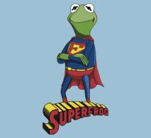 Kermit the Superman Kids Tee