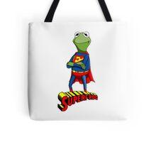 Kermit the Superman Tote Bag