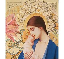 Madonna of The Blossoms Photographic Print