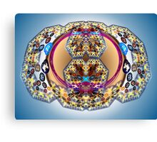 Tut64#4: Bubble Geometree (G1388) Canvas Print