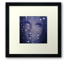ITS IN THE STARS Framed Print