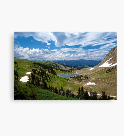 Deadmans Lake Wide  Canvas Print
