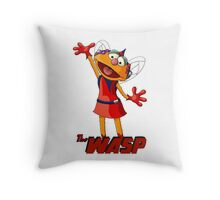 Zoe the Wasp Throw Pillow