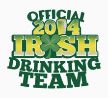 OFFICIAL 2014 IRISH drinking TEAM! by jazzydevil