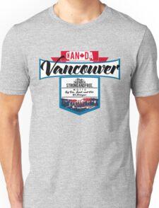 Vancouver Canada Unisex T-Shirt