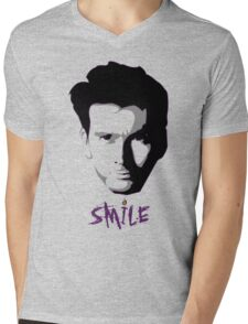 Kilgrave: Smile (black on light colors) Mens V-Neck T-Shirt