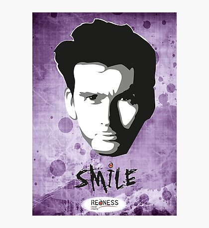 Kilgrave: Smile (black on light colors) Photographic Print