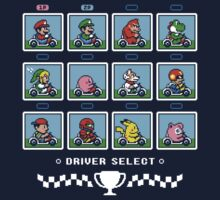SUPER SMASH KART Kids Tee