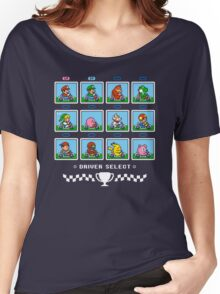SUPER SMASH KART Women's Relaxed Fit T-Shirt