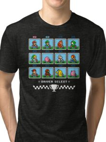 SUPER SMASH KART Tri-blend T-Shirt
