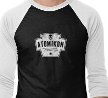 ATOMIKON Hotrods & Motorcycles Men's Baseball ¾ T-Shirt