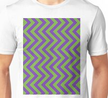 Violet and Green Arrows Unisex T-Shirt