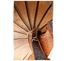 Spiral Staircase, Leeds Castle Poster