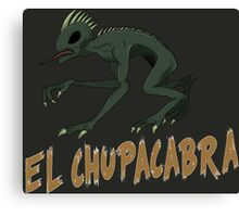 El chupacabra Canvas Print