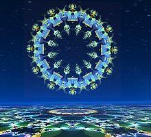 Fractal Stargate by Hugh Fathers