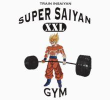 Super Saiyan Gym by Gigikuo73