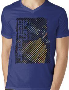 Alien Destroyer Mens V-Neck T-Shirt