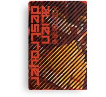 Alien Destroyer Canvas Print