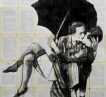 vintage kiss by Loui  Jover