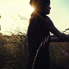 The Silhouetted cowgirl by Nikki Smith