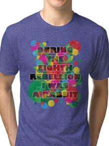 Psychedelic odd bod. Tri-blend T-Shirt