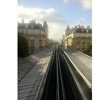 Subway in paris Photographic Print