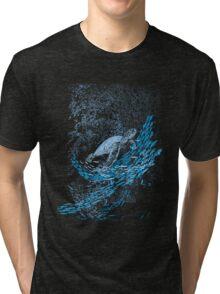 the turtle way Tri-blend T-Shirt