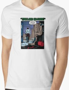 Time Lord No More Mens V-Neck T-Shirt