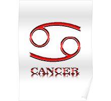 Signo del Horoscopo - Cancer Poster