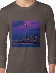 EVA ascending in town Long Sleeve T-Shirt
