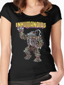 Inhumanoids D.Compose  Women's Fitted Scoop T-Shirt