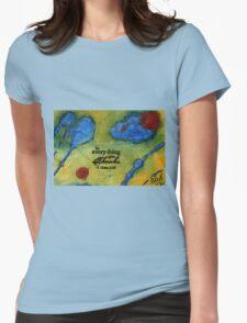 Giving Thanks Womens Fitted T-Shirt