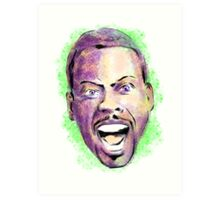 Chris Rock in your face Art Print