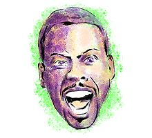 Chris Rock in your face Photographic Print