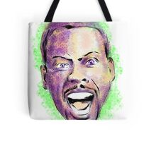 Chris Rock in your face Tote Bag