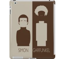Simon and Garfunkel iPad Case/Skin