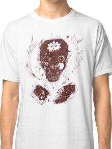 skull on fire Classic T-Shirt