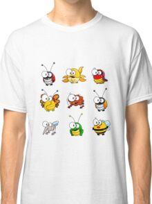Cartoon insects Classic T-Shirt