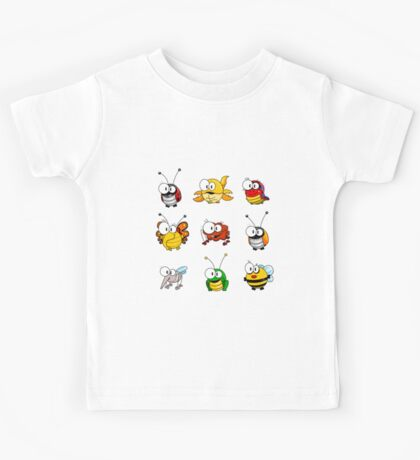 Cartoon insects Kids Tee