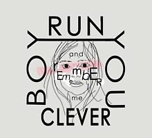 Doctor Who tee | Clara quote | Run you clever boy... Womens Fitted T-Shirt